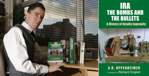 Andy Oppenheimer with book